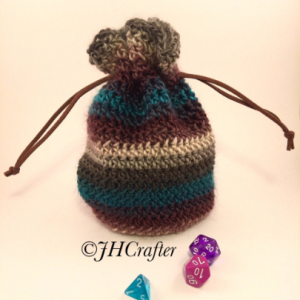 Striped Dice Bag