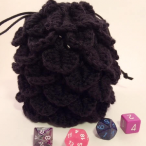 Black Dragon Egg Bag