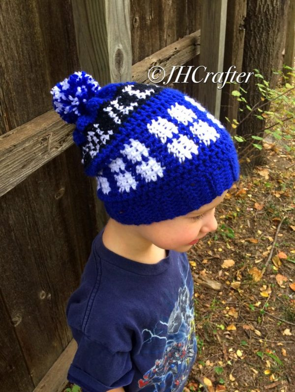 TARDIS Doctor Who Hat