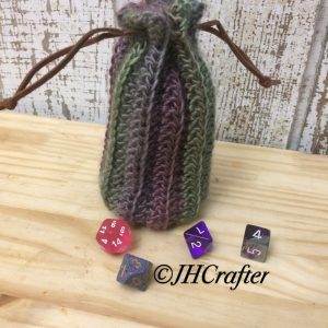 Echo Textured Dice Bag