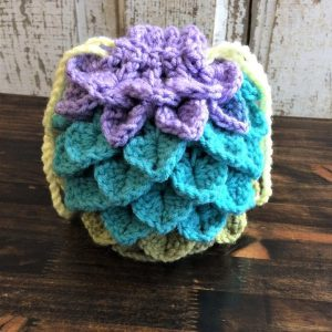 Pastel Dragon Egg Dice bag