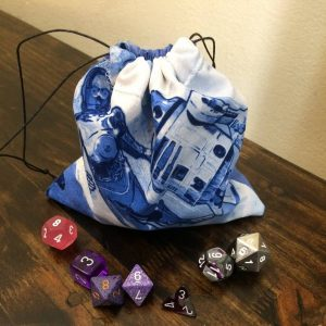 Droid C3PO and R2D2 Best Buddies Dice Bag