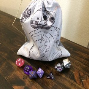 BB8 Specs Dice Bag