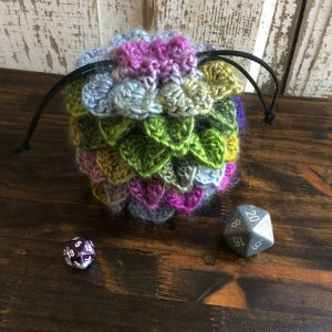 Wildflower Dragon Egg Dice Bag