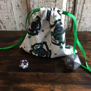 Slytherin Harry Potter Dice Bag