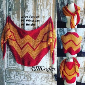 Wonder Woman Shawl