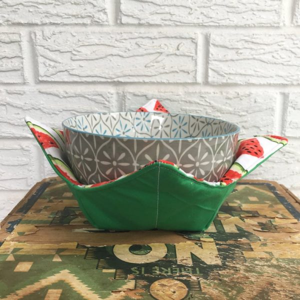 Watermelon Soup Bowl Warmer