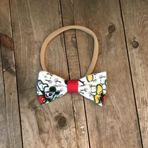 Mickey Mouse Skinny Bow