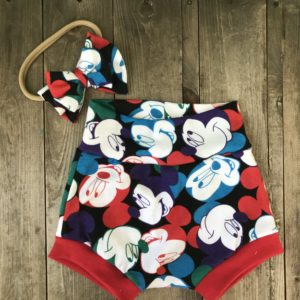 Mickey Mouse Baby Bummies Set 12-18 month size