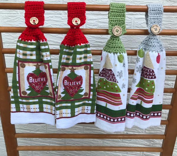 Christmas Tree Towels