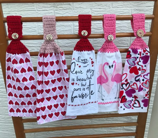 Valentines Towels