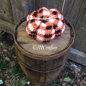 Halloween Plaid Pumpkin