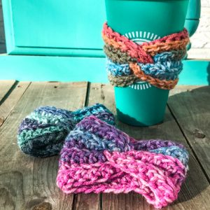 Twist Coffee Cup Cozies